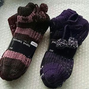 4 Harve Benard Grippy Bottom Socks Women's